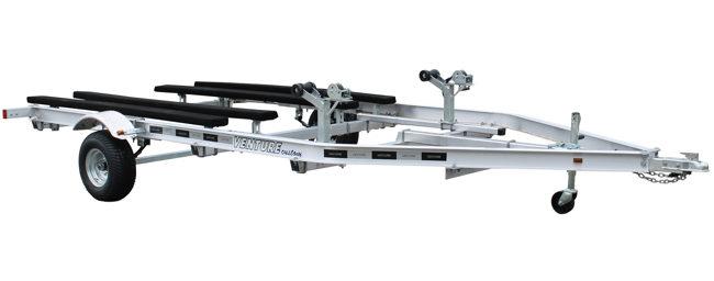 Aluminum Double Axle PWC 1200-2600 Load Capacity