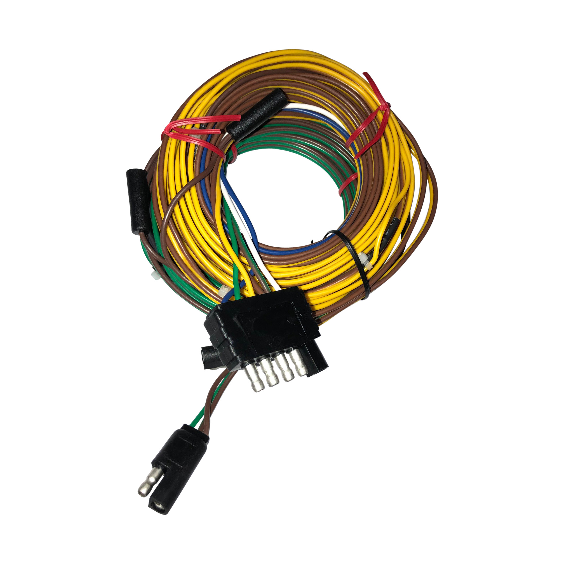 Wire Harness 336″ 5 Wire Flat Connector | Venture TrailersVenture Trailers